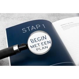 In 13 stappen werk maken van jouw loopbaan